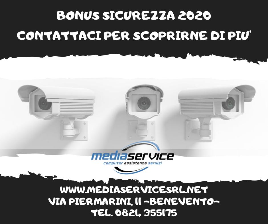 BONUS SICUREZZA 2020